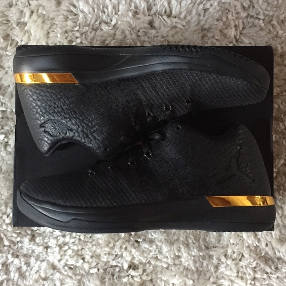 30a68a272d39ad Air Jordan 31 XXXI Black Gold 897562-023 7Y Nike